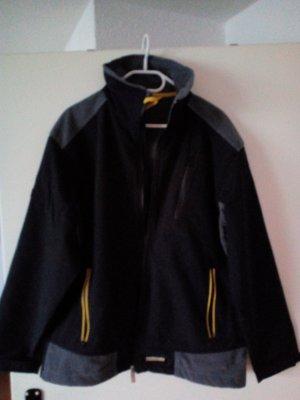 Veste d'extérieur noir nylon