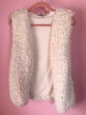 Clockhouse Fur vest multicolored