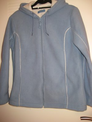 100 Chaqueta azul celeste-blanco