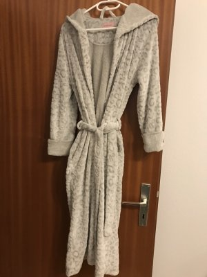 Bathrobe light grey
