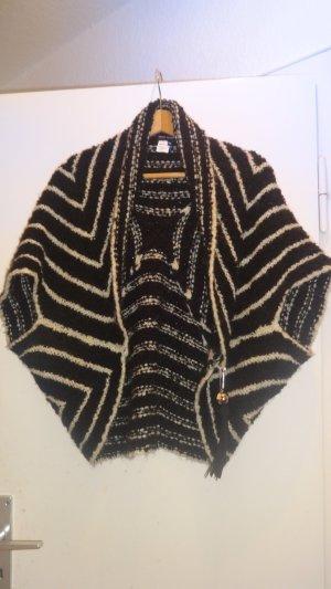 Miss Sixty Knitted Bolero black-white mixture fibre