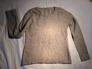 Flauschiger Kaschmirpullover Soft grey