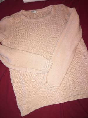 Flauschiger Pulli in rosa