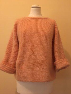 SheIn Maglione a maniche corte rosa-rosa chiaro