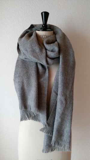 Asos Scarf light grey-grey