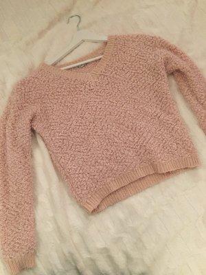 Flauschiger Strick Pullover