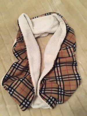 Flauschiger XL Loop Schal mit Teddyfell