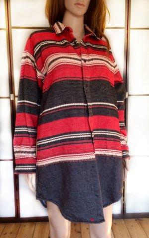 Carhartt Flanellen hemd rood-wolwit Katoen