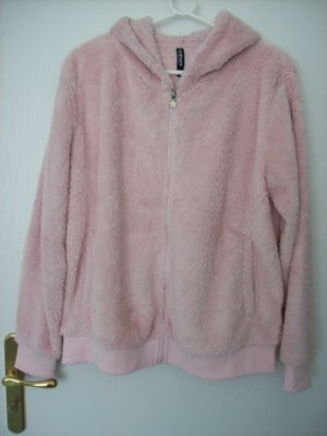 Flauschjacke rose von Colours of the world