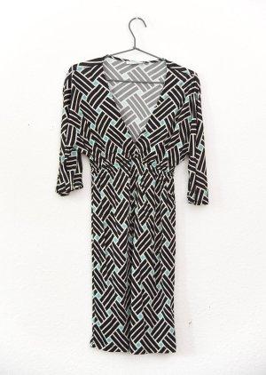 FLAVIO CASTELLANI – Fließendes Jersey Kleid – Gr. 36