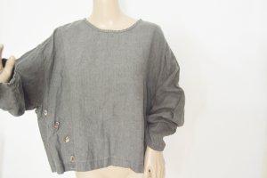 Camisa holgada gris