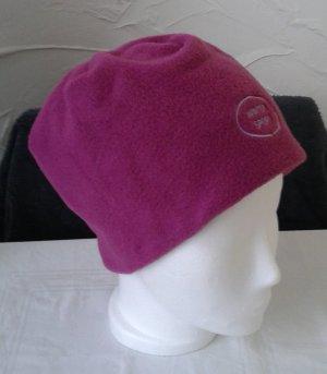 Sombrero de tela lila