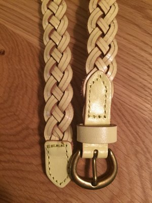 Sisley Braided Belt multicolored leather