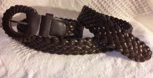 Cinturón trenzado multicolor Imitación de cuero