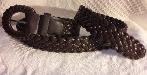 Braided Belt multicolored imitation leather