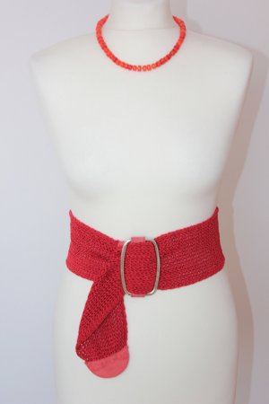 Airfield Braided Belt red