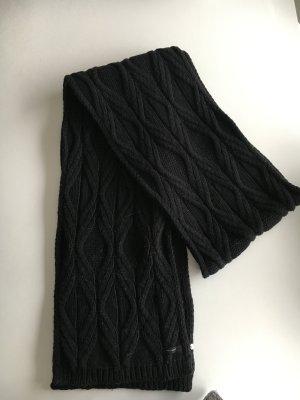 Belmondo Wollen sjaal zwart Wol