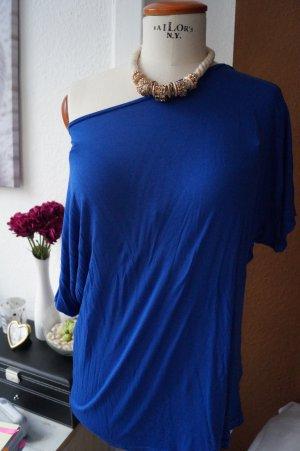 Fledermaus Shirt Gr. 38/40 Oversize One Shoulder