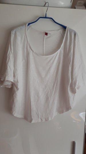 Fledermaus T-Shirt in weiß