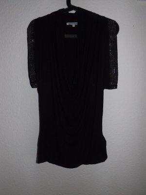 Fledermaus T-Shirt, schwarz, Größe L