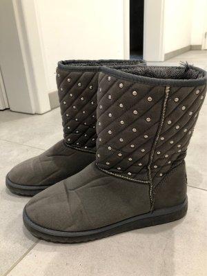 Fleece Boots Winterschuhe Nieten