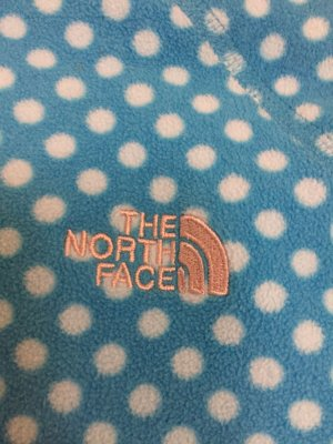 The North Face Fleece Jackets white-neon blue