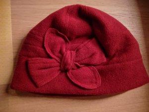 Helena Vera Cappello di lana rosso scuro Poliestere