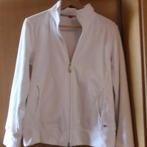 s.Oliver Fleece Jackets white