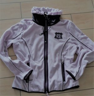 Fleece Jacke Airfield Gr 44 rose/flieder