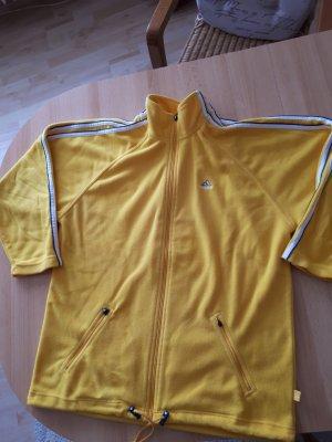 Adidas Giacca in pile giallo