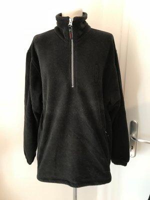 Fleece-Jacke Gr.M Gr.40 schwarz Pullover