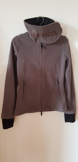 Bench Fleece Jackets taupe-grey brown