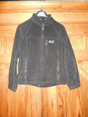 Fleece Jacke von Jack Wolfskin in schwarz