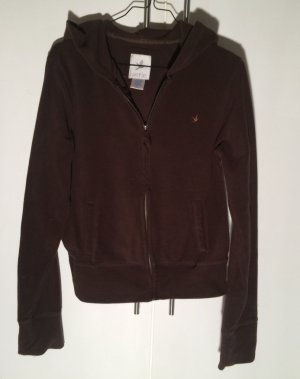 American Eagle Outfitters Jacket brown red polyester