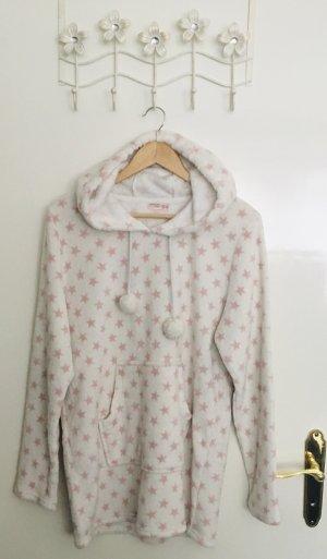 Esmara Fleece Jumper white-light pink polyester