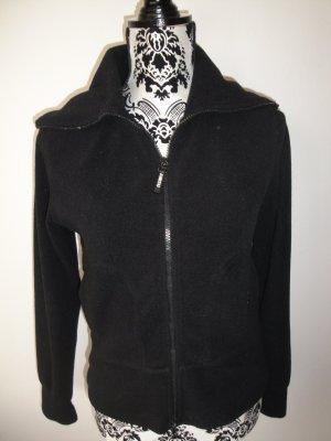 Fleece *Pulli * Zipper * Jacke * schwarz