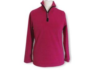 Fleece-Pullover, Damenpullover, lila, Größe 36/38, warm, kuschelig