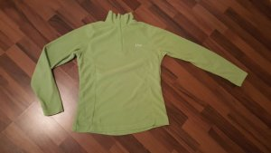 Fleece trui grasgroen