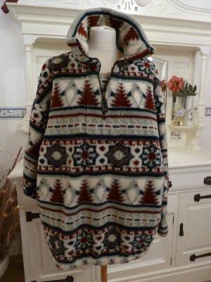 Pullover in pile multicolore