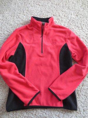 Fleece Pullover, rot, Gr. M, Marke: EQ