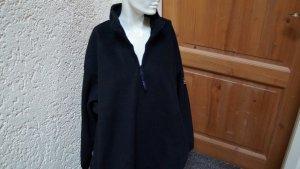 Cappotto in pile nero Poliestere