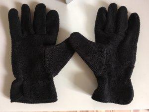 Fleece handschoenen zwart