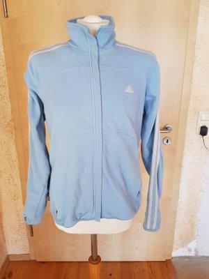 Adidas Giacca in pile azzurro