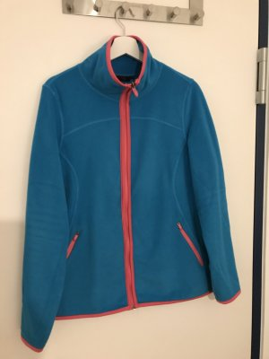 Fleecejacke blau/pink in Gr.L