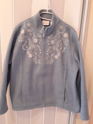 Fleece Jackets blue polyester