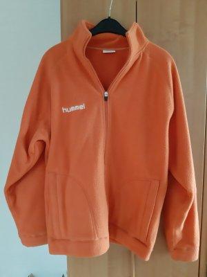 Hummel Fleece jack oranje