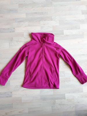 Fleecejacke in pink