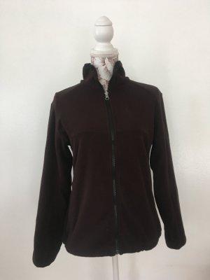 McKinley Fleece Jackets dark brown-black brown polyester
