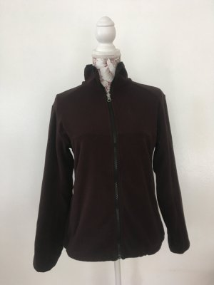 McKinley Fleece Jackets dark brown-black brown polyester