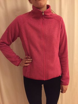 Schöffel Fleece Jackets magenta synthetic fibre
